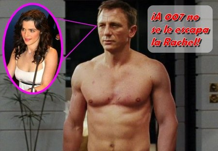 007 conquista a Rachel Weisz en la vida real