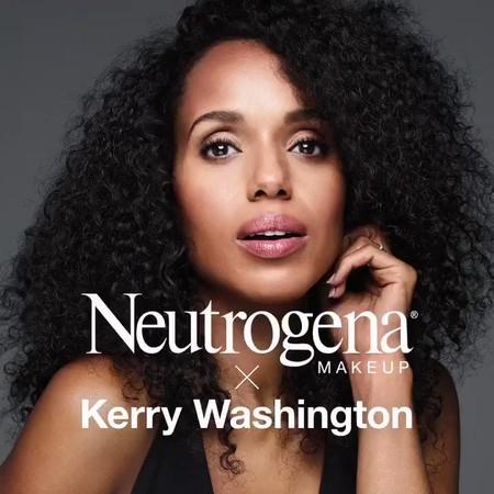Kerry Washington también lanza su propia colección  de maquillaje con Neutrogena (y nos encanta)