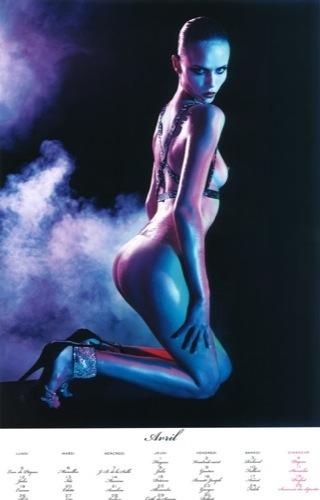 El calendario 2010 de Vogue París: erotismo y desnudos de las mejores modelos II