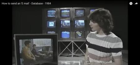 Así explicaban cómo enviar un correo electrónico en 1984