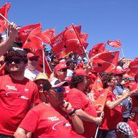 Ducati quiere llenar su tribuna en el GP de Catalunya: más servicios y regalos por los mismos 145 euros
