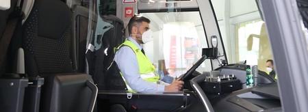 Conductor Autobus Mascarilla