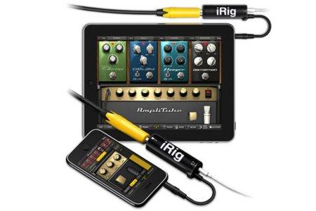 Amplitube 2 e iRig, convierte tu iPhone o iPad en un amplificador para guitarra o bajo