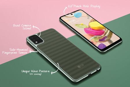 LG K42: la gama de entrada de LG se renueva con nuevo diseño y cámara frontal perforada en la pantalla