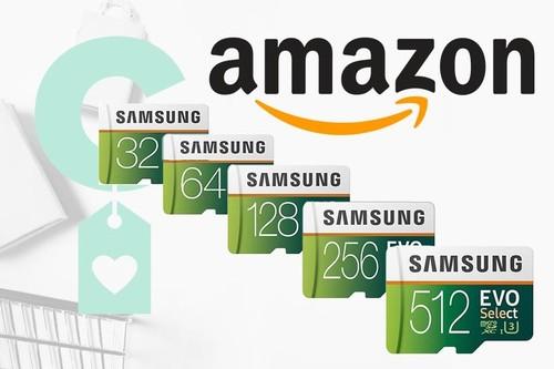 Samsung EVO Select: memorias Micro SD de todas las capacidades en oferta en Amazon