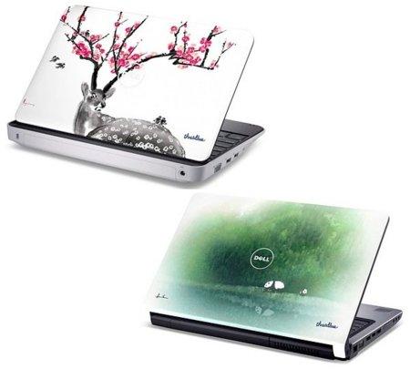 Dell Inspiron Mini 1012, netbook decorado con diseños de Threadless