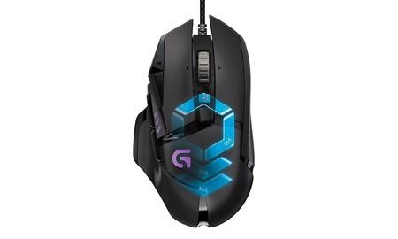 Logitech G502 Proteus Spectrum, el ratón gaming para disfrutar de tus juegos estas vacaciones, te sale por 54,99 euros en PcComponentes