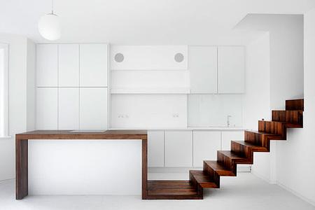 Unificando espacios gracias al buen uso de la madera