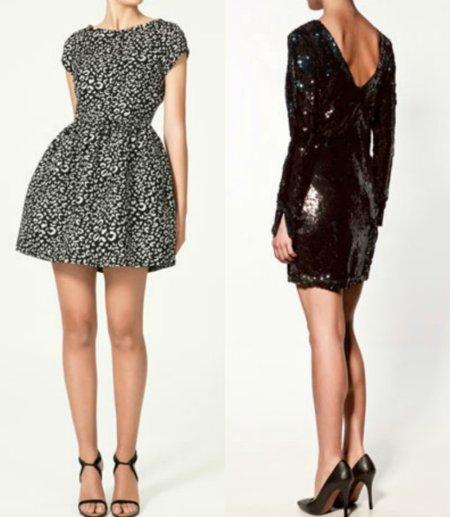 vestidos cortos fiesta 2011 zara