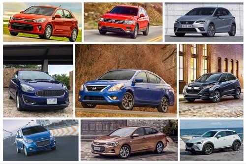 Los 356 autos más vendidos de México durante 2018 (sí, la lista completa)