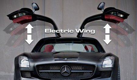 Kicherer añade un motor eléctrico a las puertas del Mercedes SLS AMG