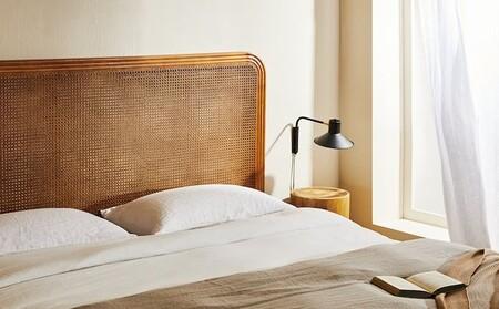 Zara Home quiere que el dormitorio sea un refugio zen con la ropa de cama y los cabeceros más naturales y relajados