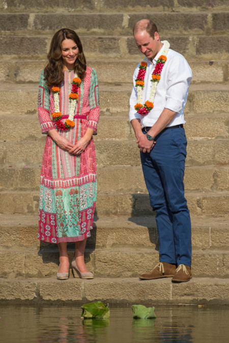 Kate Middleton Look Tour Indi 2016 3
