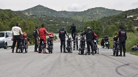Lanzamiento en Madrid de la Montesa Impala a escala 1/5