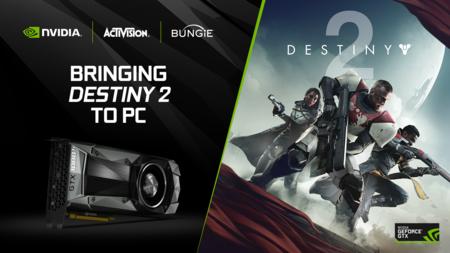 Comprando una GeForce GTX 1080 o GTX 1080Ti recibirás una copia de Destiny 2