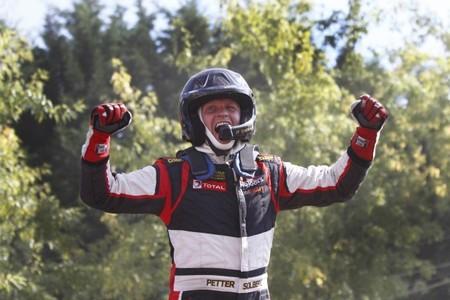 Petter Solberg consigue la tercera victoria y va directo a por el título