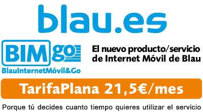 BIMgo, tarifa plana de internet de Blau
