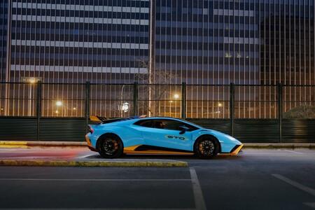 Lamborghini Huracán STO lateral