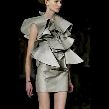 Amaya Arzuaga en la Semana de la Moda de París