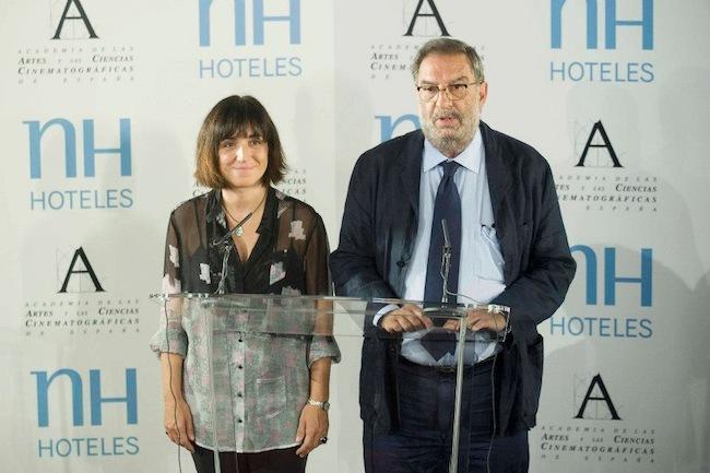 Presidente Academia del Cine español