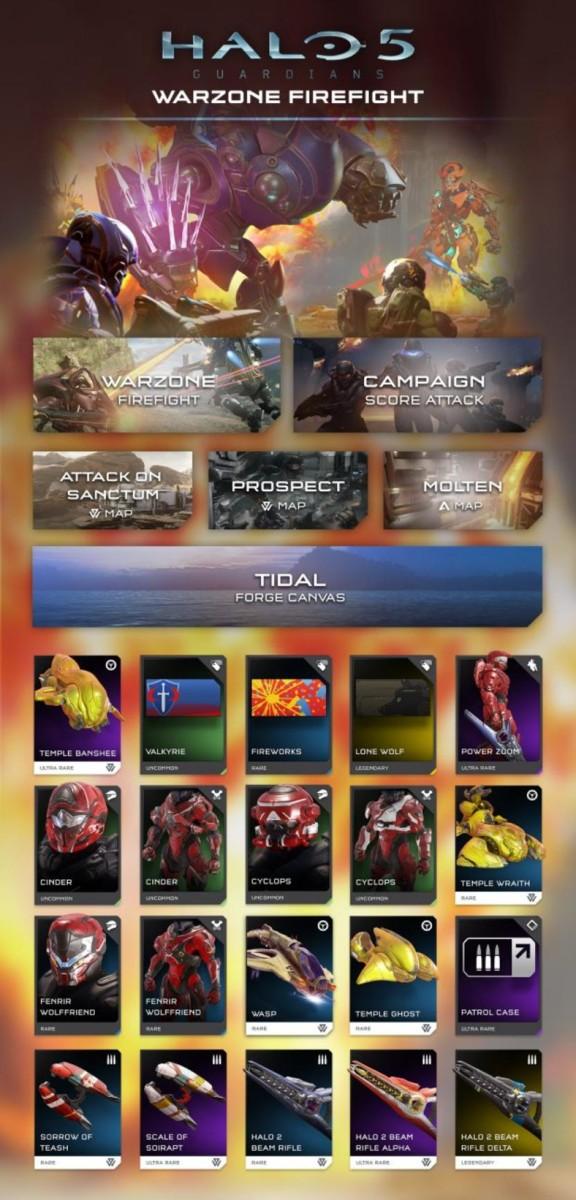 Halo 5 Warzone Fireflight