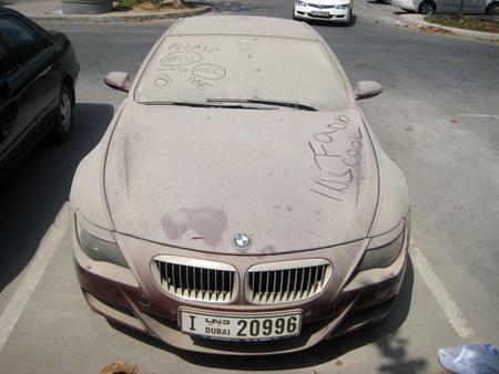 Alerta internacional: BMW M6 cogiendo polvo en Dubai