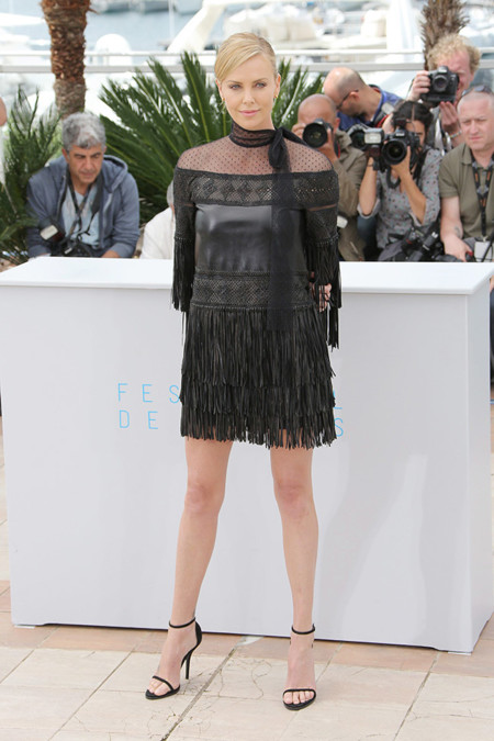 Charlize Theron Cannes Photocall 2015 Valentino 1