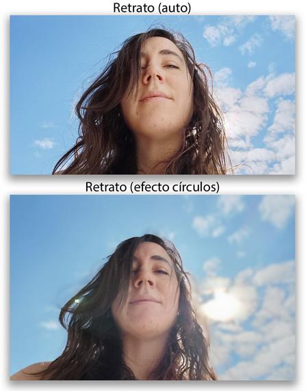 Huawei P40 Pro Retrato Frontal Comp Efecto