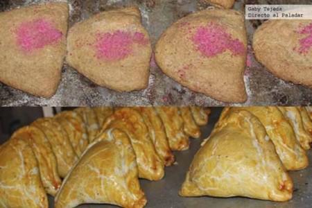 Empanadas mexicanas de coco y piña c m d a