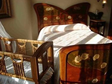 Dormitorios en varias zonas: Un dormitorio con zona infantil