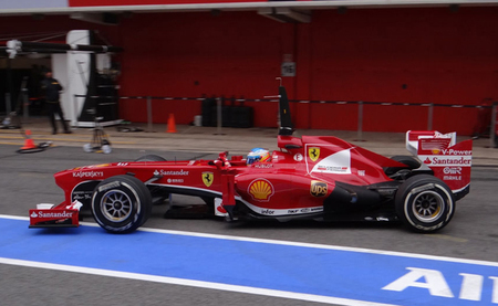 """Fernando Alonso: """"el día de hoy ha sido muy bueno y muy productivo"""""""