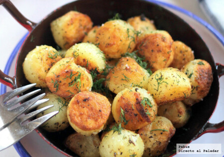 Patatas en Bolitas al Estragon