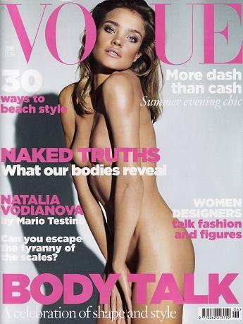 Natalia Vodianova se desnuda para Vogue UK