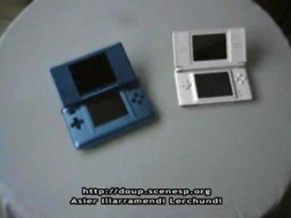 Nintendo DS Lite en vídeo (CG)
