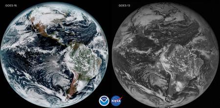 El nuevo satélite GOES-16 nos muestra la belleza y espectacularidad de la Tierra como nunca antes se había visto
