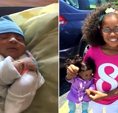 Con 10 años asistió a su tía en un parto inesperado y cuidó del bebé como había visto en Youtube