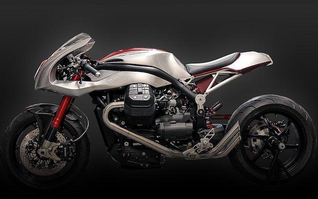 Moto Guzzi Grisso by Officine Rosso Puro