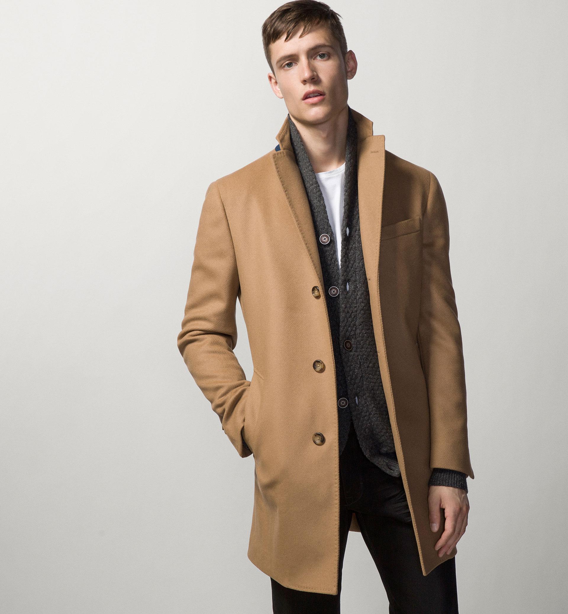 Veste Homme Fashion Camel