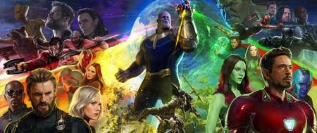 Vengadores La Guerra Del Infinito Poster