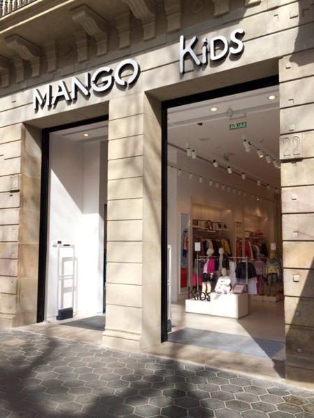 Mango Kids Barcelona