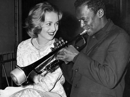 Miles Davis Jeanne Moreau