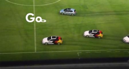 Así jugó el Volkswagen Golf GTI la final del mundial de fútbol