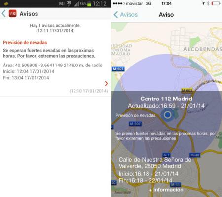 My112 112 emergencias Madrid