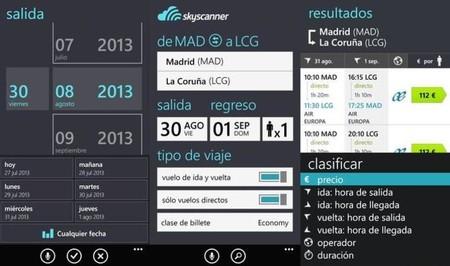 Skyscanner Aplicacion