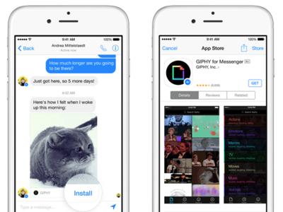 Facebook convierte Messenger en una plataforma con aplicaciones