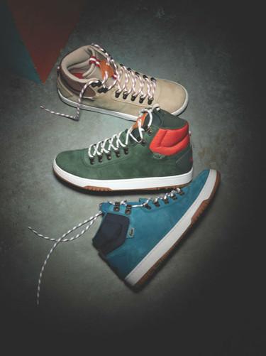 El calzado a todo color de Lacoste L!ve para el Otoño-Invierno 2012/2013