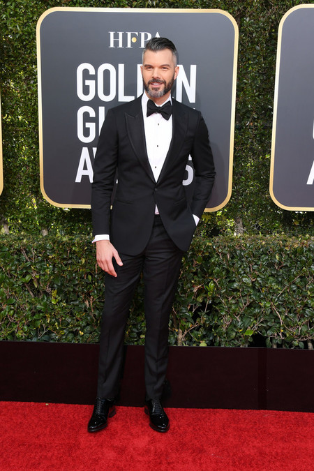 A J Gibson Red Carpet Gondel Globe Awards 2019 Alfomba Roja Trendencias Hombre 03