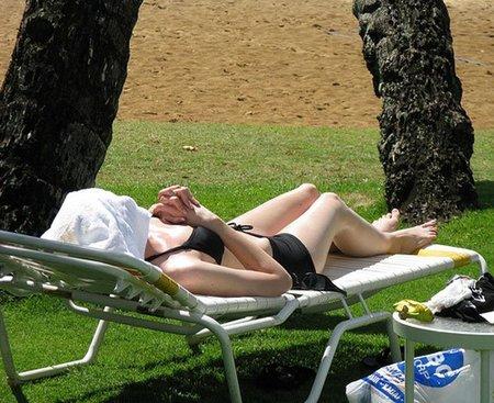 Manchas oscuras en la piel: la pantalla-toalla