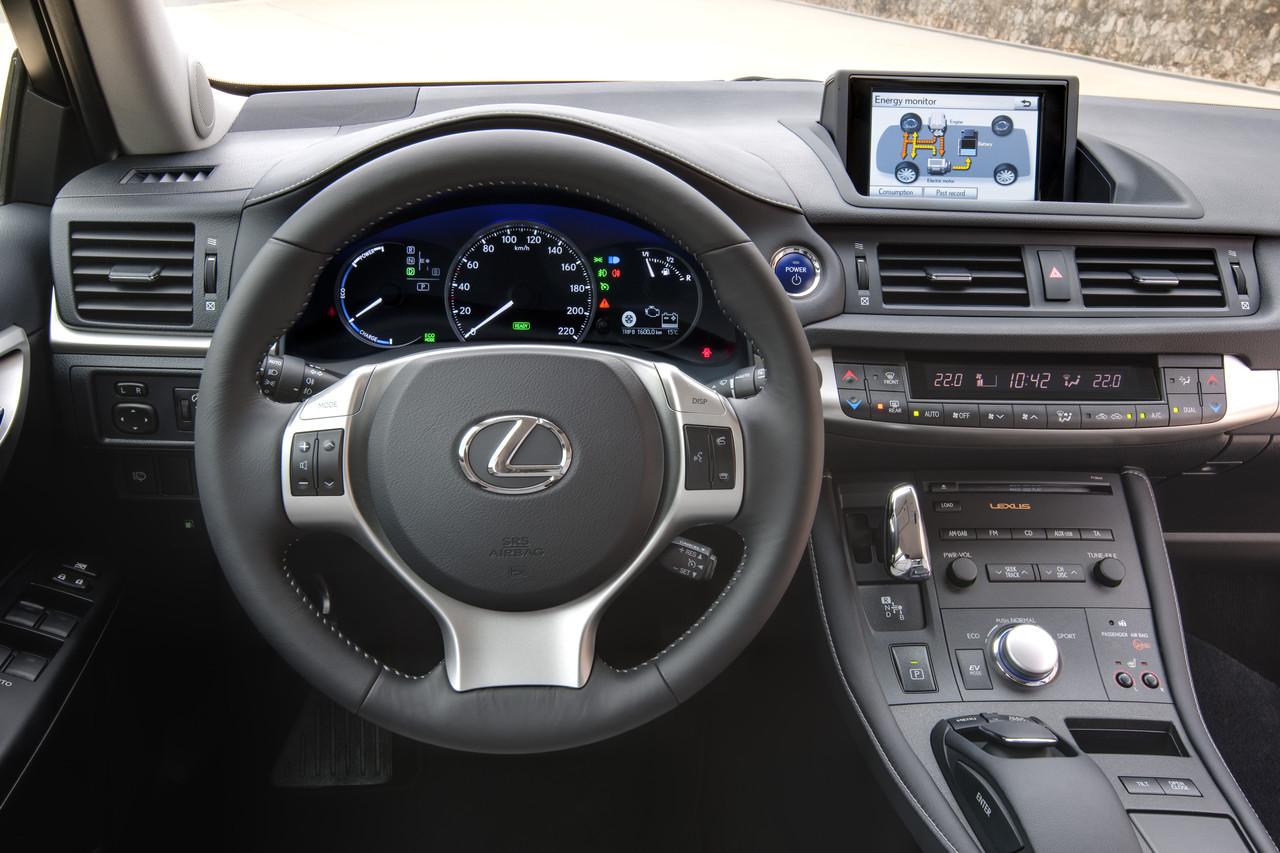 Foto de Lexus CT 200h (44/164)