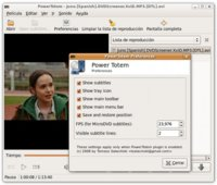 PowerTotem: complemento para mejorar el reproductor multimedia Totem